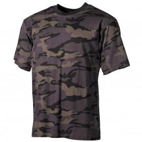 Tričko MFH, Combat camo