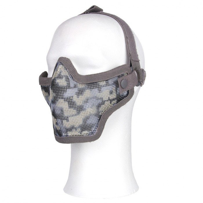 Ochranná maska AIRSOFT malá, čierna
