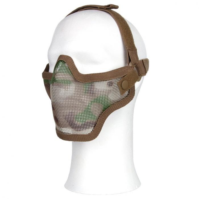 Ochranná maska AIRSOFT, multicam