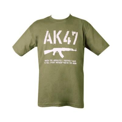Tričko AK47, čierne