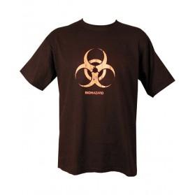 Tričko Biohazard, čierne