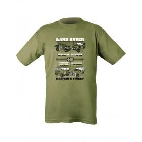 Tričko KOMBAT Land Rover, olive