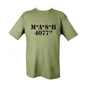 Tričko KOMBAT MASH 4077th, olive
