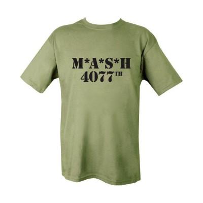 Tričko MASH 4077th, olive