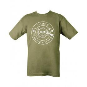 Tričko KOMBAT Taliban Hunting Club, olive