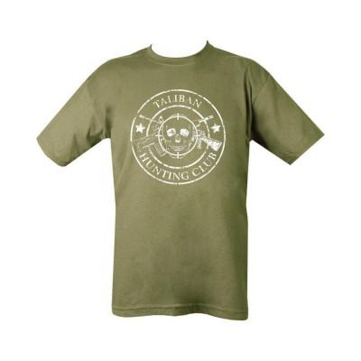 Tričko Taliban Hunting Club, olive