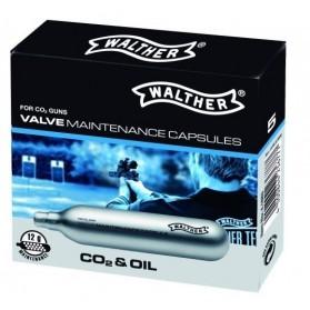 Bombička CO2 12g Walther mazacia