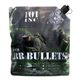Airsoft. guličky BB King 0,30g, 2500ks, kal. 6mm