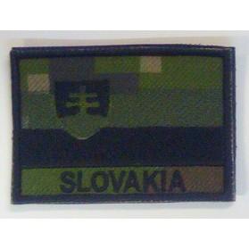 Nášivka na suchý zips SVK Farebná AT-BK