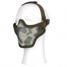 Ochranná maska AIRSOFT, woodland