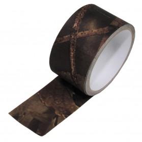 Textilná páska, hunter braun, 10m