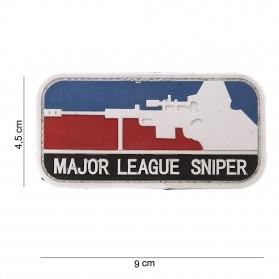 Nášivka PATCH 3D PVC MAJOR SNIPER COLOR