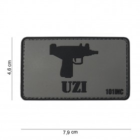 Nášivka PATCH 3D PVC UZI