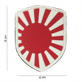 Nášivka PATCH 3D PVC SHIELD JAPANESE WAR