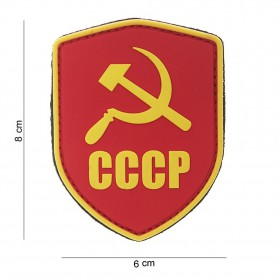 Nášivka PATCH 3D PVC SHIELD CCCP