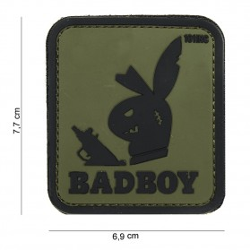 Nášivka PATCH 3D PVC BADBOY GREEN