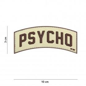 Nášivka PATCH 3D PVC PSYCHO SAND