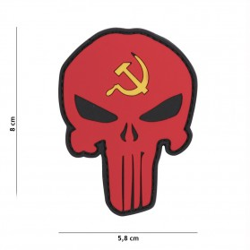Nášivka PATCH 3D PVC PUNISHER RUSSIA