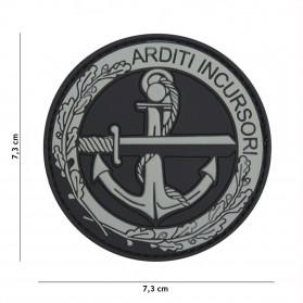 Nášivka PATCH 3D PVC ARDITI INCURSORI GREY