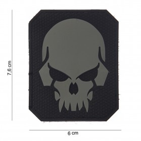 Nášivka PATCH 3D PVC PIRATE SKULL