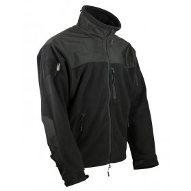Bunda KOMBAT defender Tactical Fleece, čierna