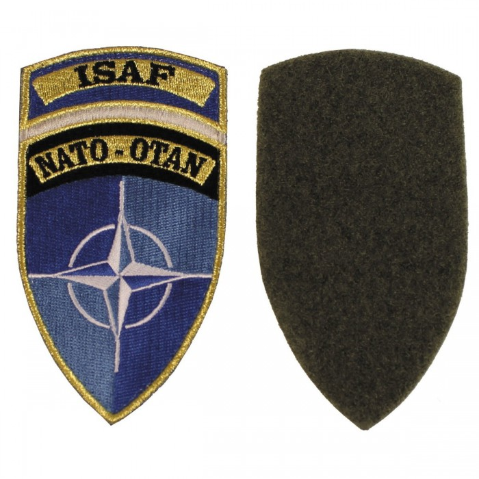 "Nášivka ""ISAF"", NATO-OTAN"