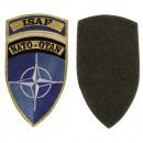 """Nášivka """"ISAF"""", NATO-OTAN modrá"""