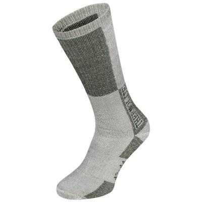 """Ponožky FOX """"Polar"""", olivovo-biele"""