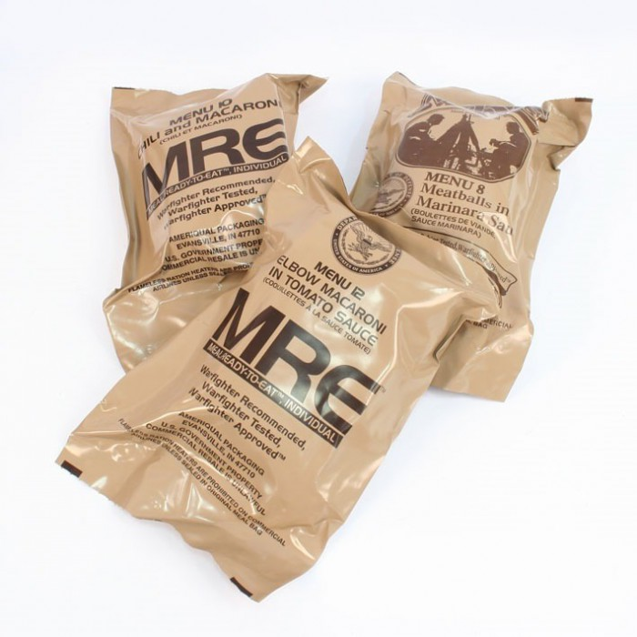 "MRE Star, č. 6 ""Vegetarian Chili"""