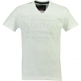 Tričko NORWAY, biele