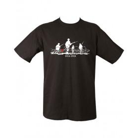 Tričko WW1, čierne