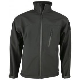 Bunda TROOPER - Tactical Soft Shell Jacket - čierna