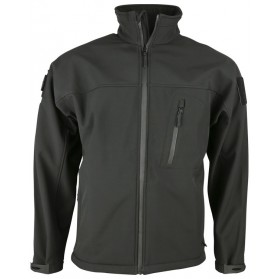 Bunda TROOPER - Tactical Soft Shell Jacket - čierna