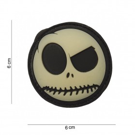 Nášivka PATCH 3D PVC BIG NIGHTMARE SMILEY
