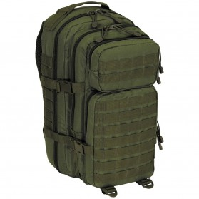 "Batoh MFH US Assault I ""Basic"" 30L, olive"
