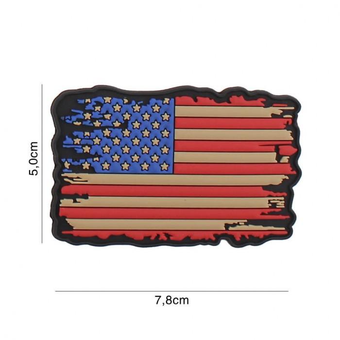 Nášivka PATCH 3D PVC USA VINTAGE