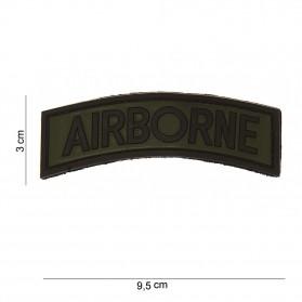 Nášivka PATCH 3D PVC AIRBORNE
