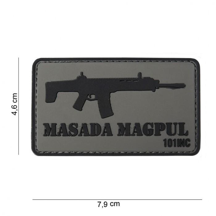 Nášivka PATCH 3D PVC MASADA MAGPUL