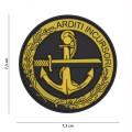 Nášivka PATCH 3D PVC ARDITI INCURSORI YELLOW