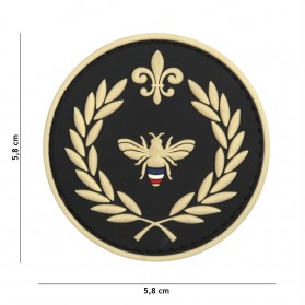 Nášivka PATCH 3D PVC NAPOLEON BEE BLACK
