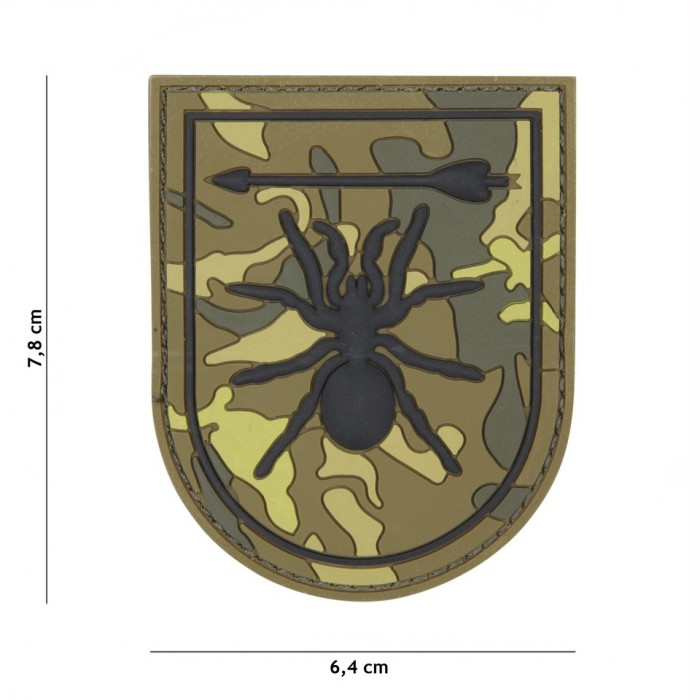 Nášivka PATCH 3D PVC SPECIAL FORCES SPIDER GREEN