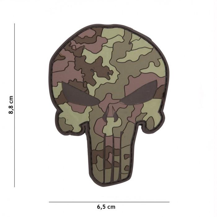 Nášivka PATCH 3D PVC PUNISHER ITALIAN CAMO