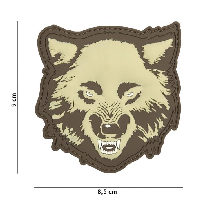 Nášivka PATCH 3D PVC WOLF COYOTE