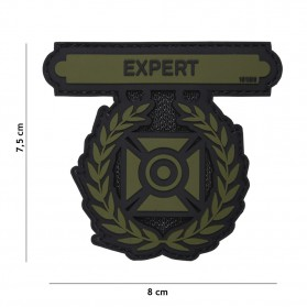 Nášivka PATCH 3D PVC EXPERT GREEN