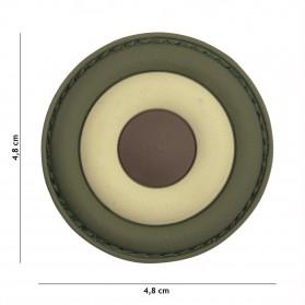 Nášivka PATCH 3D PVC ITALIAN AIR FORCE WOODLAND