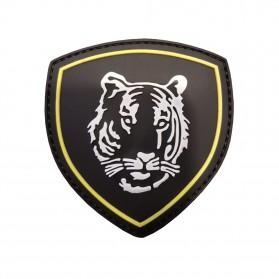 Nášivka PATCH 3D PVC RUSSIAN TIGER BLACK