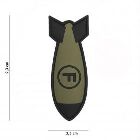Nášivka PATCH 3D PVC F. BOMB GREEN