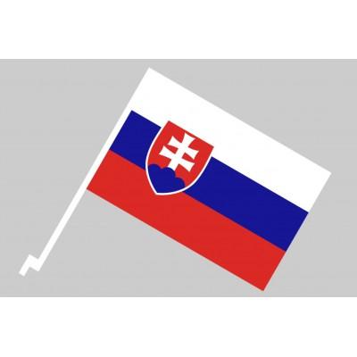 Slovenská autovlajka 45x30cm