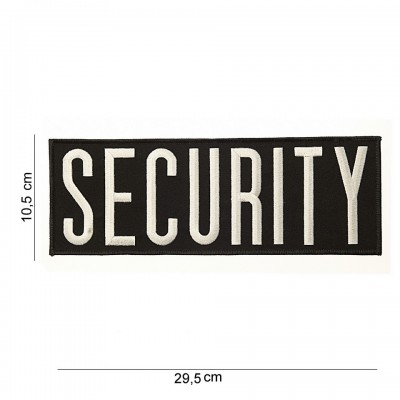 Nášivka Security, veľká