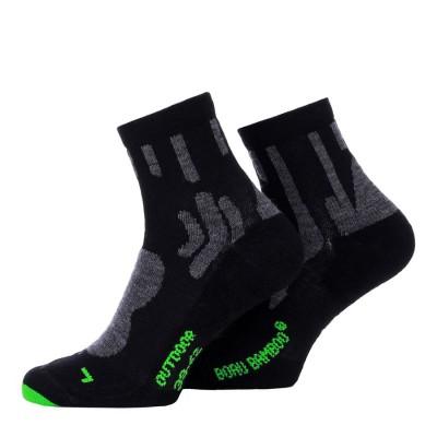 Ponožky outdoorové, Boru Bamboo